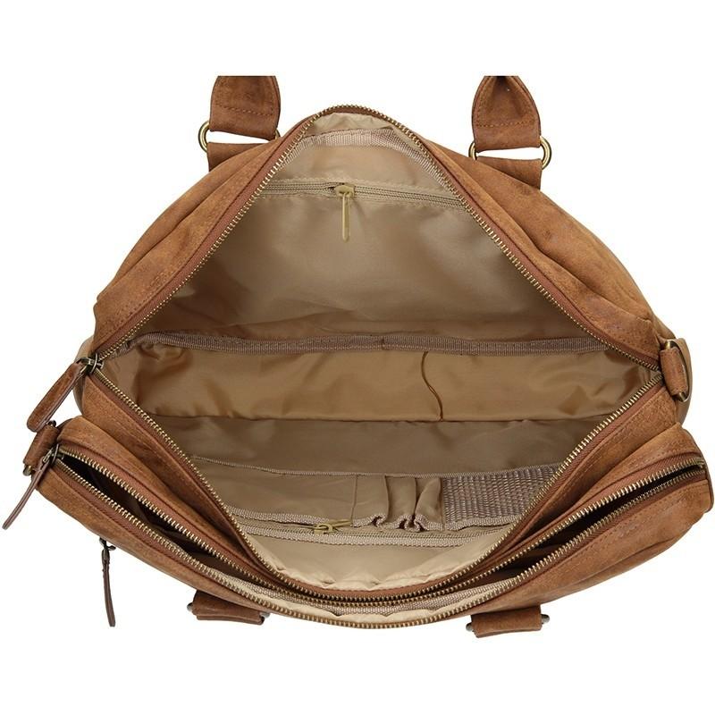 Pánská taška přes rameno Enrico Benetti Madrid - hnědá