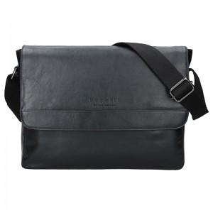 Pánská taška přes rameno Bugatti Artur - černá