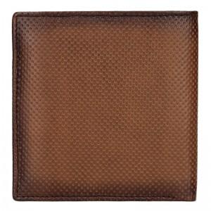 Pánská kožená peněženka Bugatti Edd - hnědá