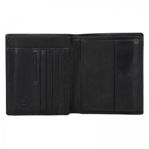 Pánská kožená peněženka Bugatti Merit - černá