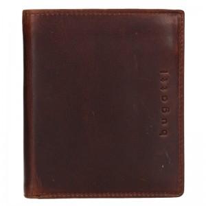 Pánská kožená peněženka Bugatti Merit - hnědá
