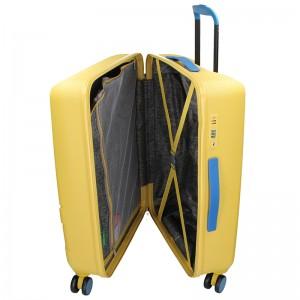 Kabinový cestovní kufr United Colors of Benetton Kanes S - žlutá