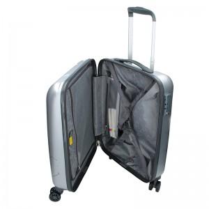 Kabinový cestovní kufr Ciak Roncato World S - stříbrná