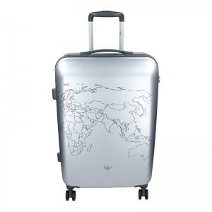 Kabinový cestovní kufr Ciak Roncato World M - stříbrná