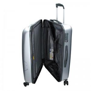 Kabinový cestovní kufr Ciak Roncato World L - stříbrná