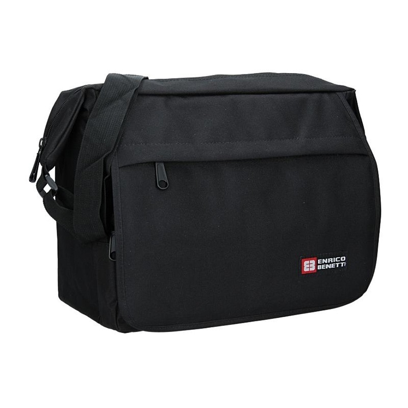 Pánská taška přes rameno Enrico Benetti Hubert - černá