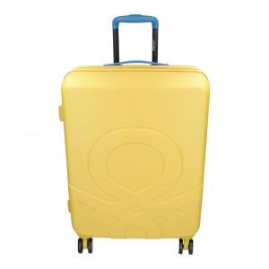 Sada 3 cestovních kufrů United Colors of Benetton Kanes S,M,L - žlutá