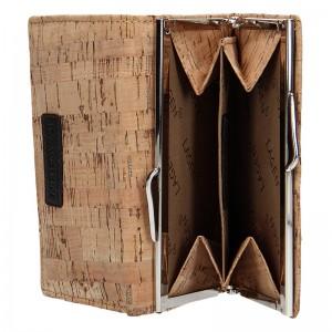 Dámská kožená peněženka Lagen Greta - světle hnědá