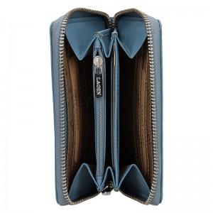 Dámská kožená peněženka Lagen Apolen - modrá