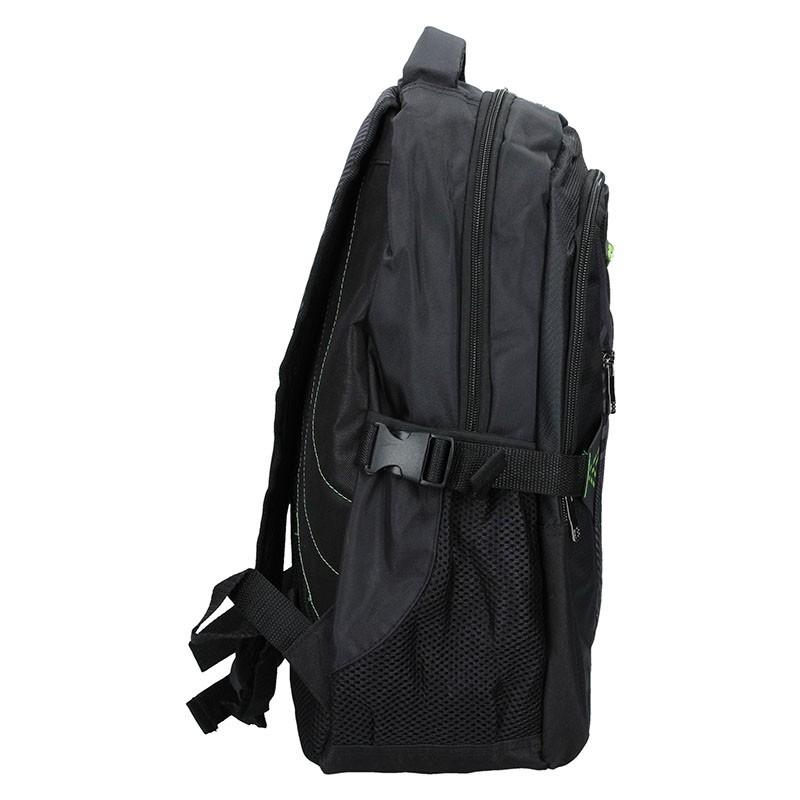 Moderní batoh Enrico Benetti 47093 - černo-zelená