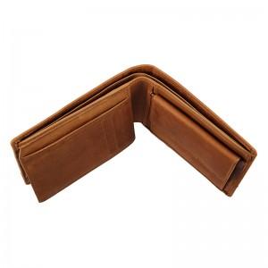 Pánská kožená peněženka Lagen Lorenc - světle hnědá