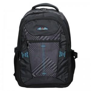 Moderní batoh Enrico Benetti 47093 - černo-modrá