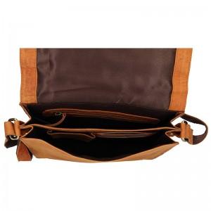 Pánská taška přes rameno Always Wild Buffalo - koňak