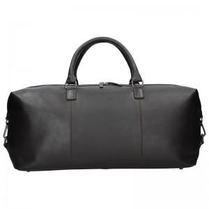 Pánská kožená cestovní taška Bugatti Dios - hnědá