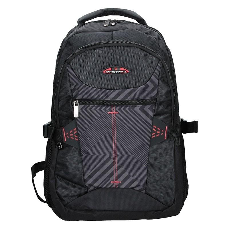 Moderní batoh Enrico Benetti 47093 - černo-červená