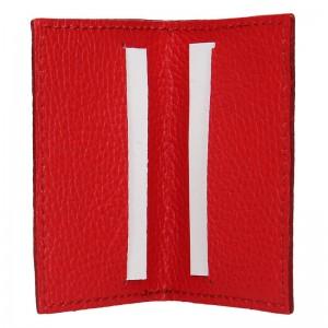 Pánský obal na karty Facebag Marco - červená