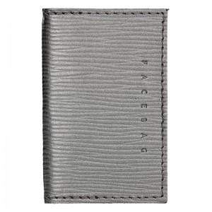 Pánský obal na karty Facebag Marco - stříbrná