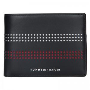 Pánská kožená peněženka Tommy Hilfiger Miami - černá