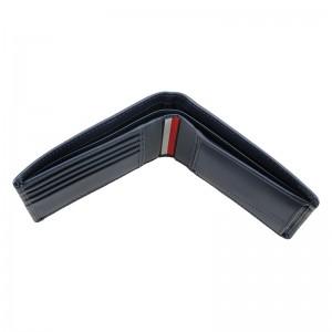 Pánská kožená peněženka Tommy Hilfiger Kenny - černá
