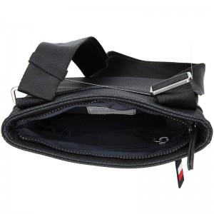 Pánská taška přes rameno Tommy Hilfiger Patrik - černá