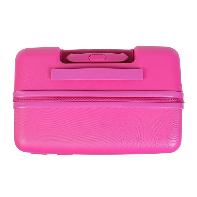 Cestovní kufr United Colors of Benetton Timis M - růžová