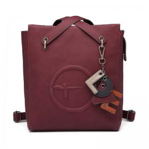 Dámská batůžko kabelka Tamaris Fee - vínová