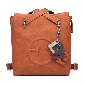 Dámská batůžko kabelka Tamaris Fee - koňak
