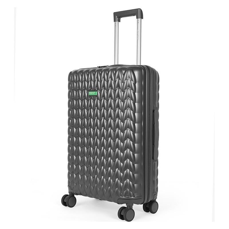 Kabinový cestovní kufr United Colors of Benetton Rider S - tmavě šedá
