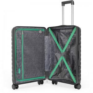 Cestovní kufr United Colors of Benetton Rider M - tmavě šedá