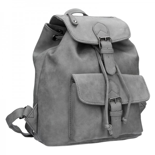 Moderní dámský batoh Enrico Benetti 66194 - šedá