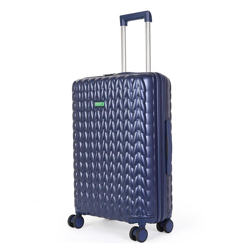 Kabinový cestovní kufr United Colors of Benetton Rider S - modrá