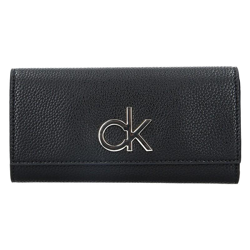 Dámská peněženka Calvin Klein Ghita - černá