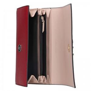 Dámská peněženka Calvin Klein Ghita - vínová