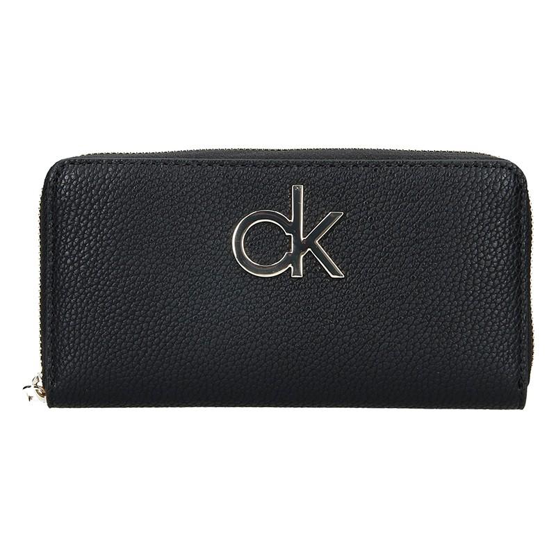 Dámská peněženka Calvin Klein Fiora - černá