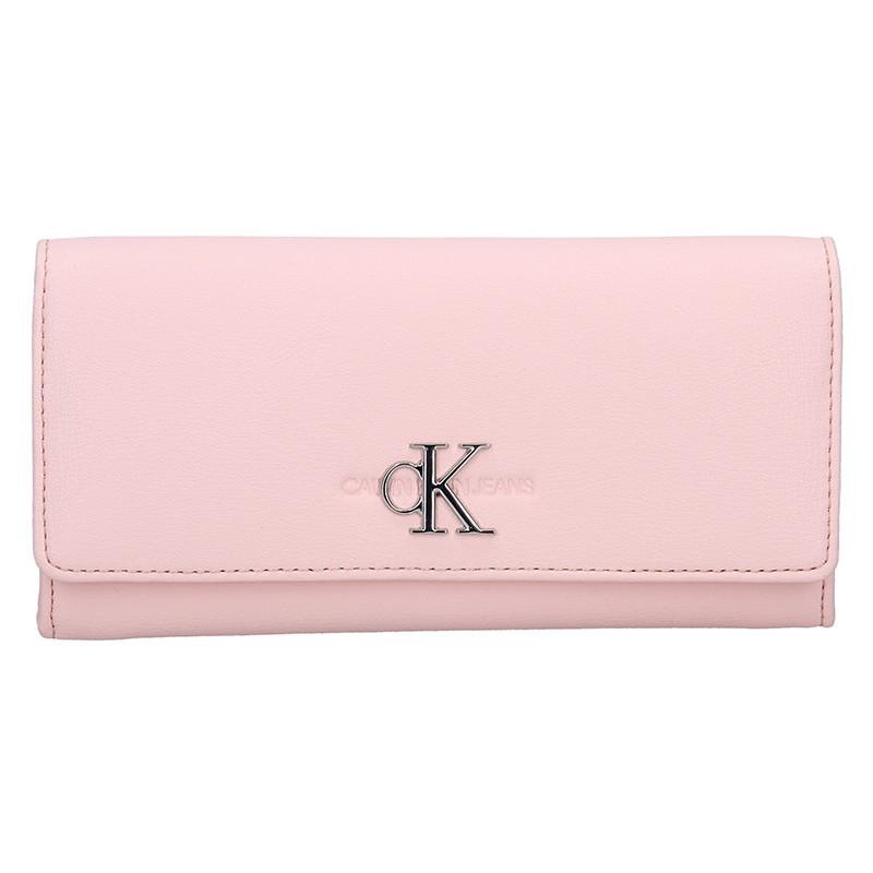 Dámská peněženka Calvin Klein Brenda - růžová