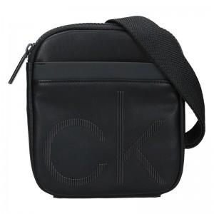 Pánská taška přes rameno Calvin Klein Robin - černá
