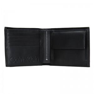 Pánská kožená peněženka Calvin Klein Phillip - černá