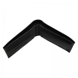 Pánská kožená slim peněženka Calvin Klein Triss - černá