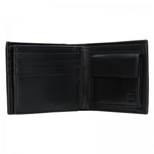 Pánská kožená peněženka Calvin Klein Vinnie - černá