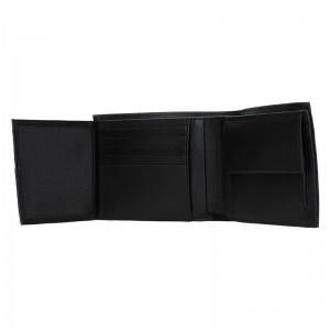 Pánská kožená peněženka Calvin Klein Sven - černá
