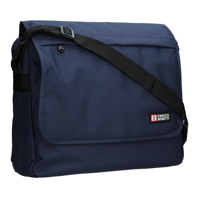 Pánská taška přes rameno Enrico Benetti Rudolf - modrá