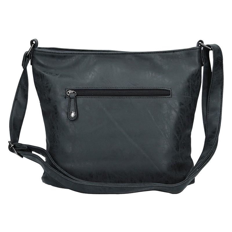 Dámská crossbody kabelka Enrico Benetti 66198 - černá