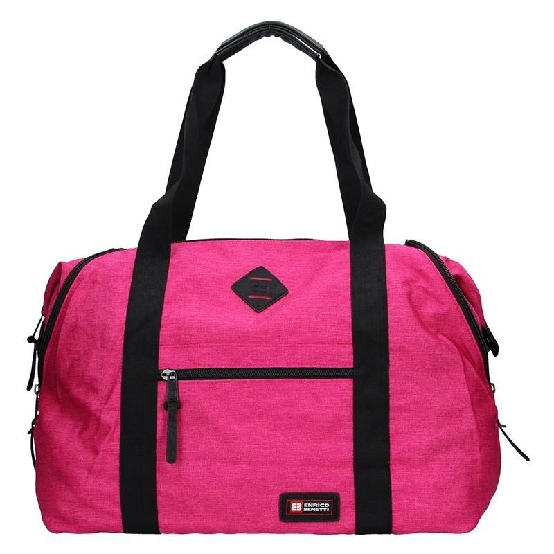 Sportovní taška Enrico Benetti 54549 - růžová