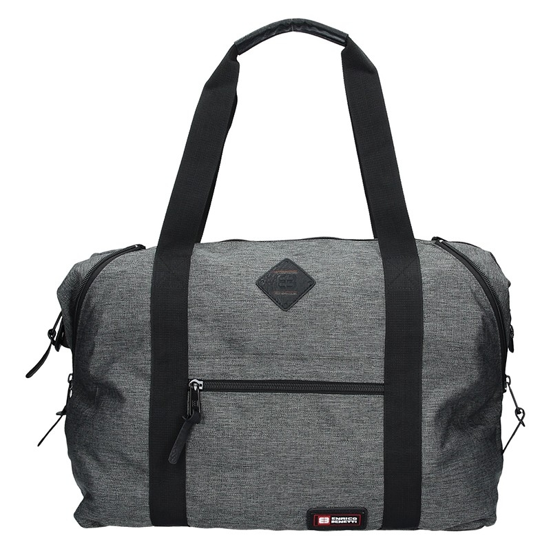 Sportovní taška Enrico Benetti 54549 - šedá 7044c69823