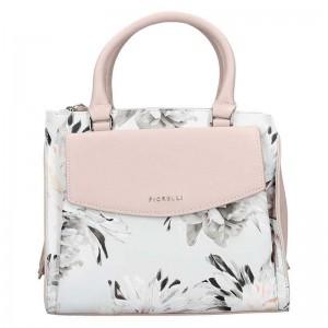 Dámská kabelka Fiorelli Kate - růžovo-bílá