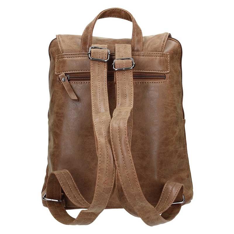 Moderní dámský batoh Enrico Benetti Tinna - hnědá