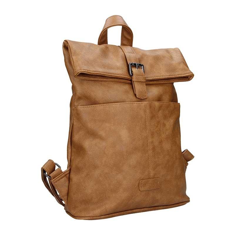 Moderní dámský batoh Enrico Benetti Gretta - hnědá