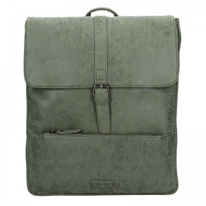 Velký trendy batoh Enrico Benetti Amsterdam - olivová