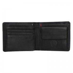 Kožená pánská peněženka Lerros Gustav - černá