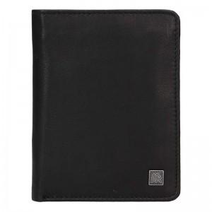 Kožená pánská peněženka Lerros Libir - černá
